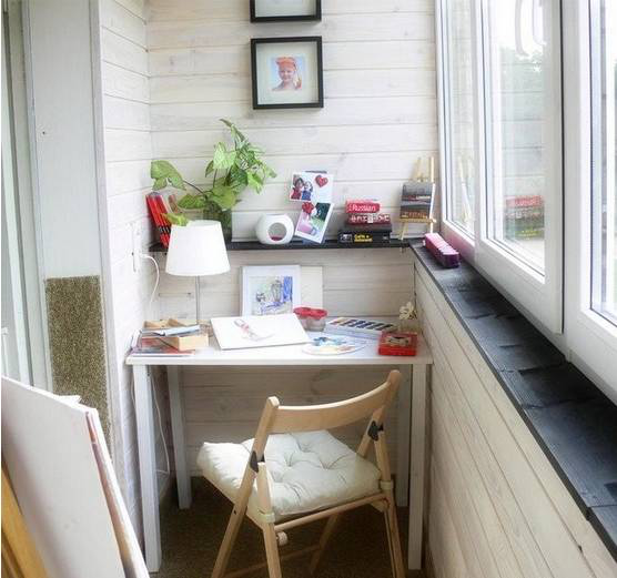韦德国际开户装修公司-尚华装饰分享:21款阳台设计成小书房方案