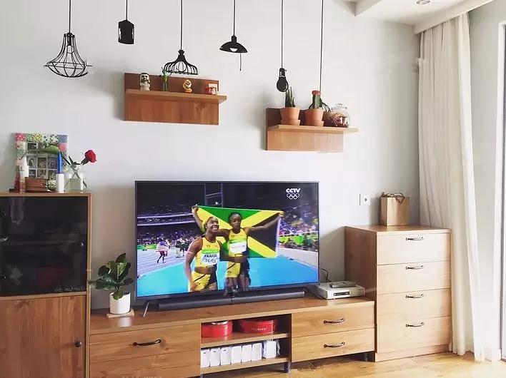 【韦德国际开户装修干货】电视背景墙的26种装修方式,后悔没早看到!